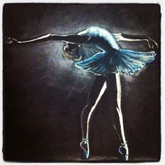 LeftLeg - Ballerina in Blue - (no name given) ~Inner Space by London-based Owen Silverwood ... not ready yet... mb later - white box ~ ur duty.