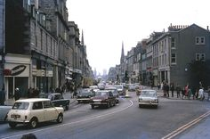 1969 ABERDEEN, From Holburn Junction, looking east down Union Street.