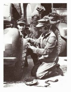 In 1945, 18-year-old Princess Elizabeth convinced her father that she should be allowed to contribute directly to the war effort. She joined the Women's Auxiliary Territorial Service (ATS) where she was known as Second Subaltern Elizabeth Windsor, trained as a driver, and drove a military truck while she served.