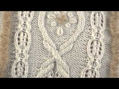 #1 High Neck Peplum Pullover Vogue Knitting Holiday 2012 - YouTube