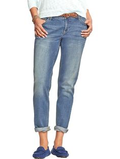 Women's The Boyfriend Skinny Jeans Product Image