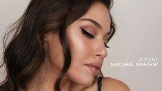 SULTRY & GLOWY NATURAL MAKEUP | EMAN - YouTube