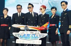 """Portraying Louis Koo's love interest in the movie version of """"Triumph in the Skies"""", Charmaine Sheh said she was distracted by her handsome co-star."""