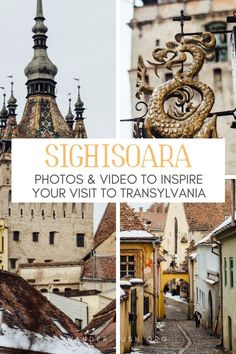 Sighisoara and its UNESCO-protected Historic Centre is a must-see in Transylvania. Here you'll find a collection of photos to inspire your visit, plus a list of the best things to do in Sighisoara, Romania. Europe Travel Guide, Europe Destinations, Spain Travel, Medieval, Romania Travel, Roadtrip, Eastern Europe, European Travel, Travel Inspiration