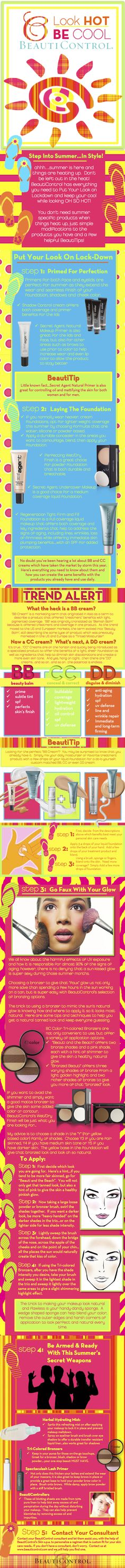 BeautiControl has everything you need to look HOT, and be COOL this Summer!