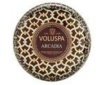 Voluspa Arcadia 2 Wick Metallo Candle (Maison Rouge)   they smell so good!