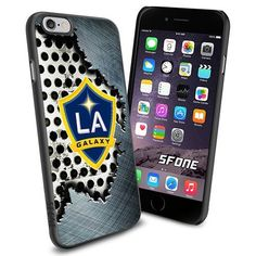 LA Galaxy MLS Metal Logo WADE6571 Soccer iPhone 6 4.7 inch Case Protection Black Rubber Cover Protector WADE CASE http://www.amazon.com/dp/B0141HAUY8/ref=cm_sw_r_pi_dp_5xACwb011MX3K