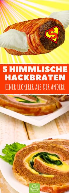 5 einzigartig leckere Varianten für Hackbraten! #rezept #rezepte #hackfleisch #braten #ofen
