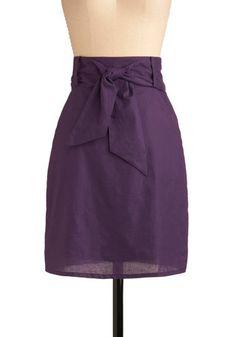 Plum Panache Skirt