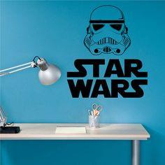 kik2208 Wall Decal Sticker Warrior dark side Star Wars children's room living