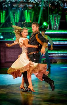Ashley Taylor Dawson and Ola Jordan Perform In Week 8 Of Strictly Come Dancing 2013