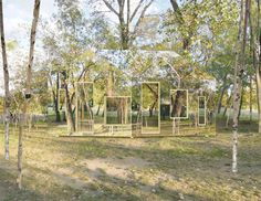 Architectural Illusion: An Invisible Barn Hides Itself in the Trees - Architizer