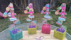 Pack of 4 numbers 9.5 inch Shopkins by SilviasPartyDecor on Etsy