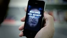 Far Cry 3 Insanity Mirror : Scary App for iPhone ! Crying, Scary, App, Iphone, Mirror, Digital, Campaign, Inspire, Design