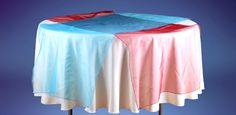 We have table runners in huge variety of designs, patterns, color and fabrics. Two fabrics runners available, satin and organza.