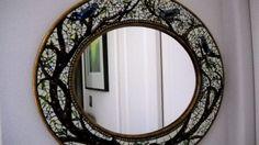 Beautiful mosaic mirror!