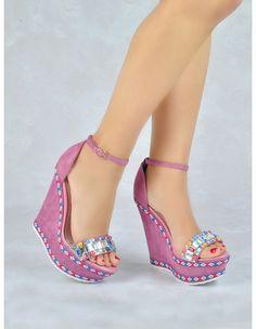 Shoes Heels Wedges, Peep Toe Heels, High Heels, Wedge Ankle Boots, Shoe Boots, Boho Sandals, Wedge Sandals, Wedge Shoes, Splendid Shoes