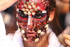 Stylefluid Trendz: Pat McGrath's magical makeup for Givenchy Fall Winter 2015 :Paris Menswear Fashion Week