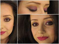 Maquiagem de Sexta – Roxo com pink