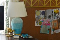 Ombre Wrapped Lamp #howto #tutorial