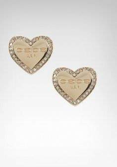 bebe | bebe Plaque Stud Earring - WEB EXCLUSIVE - Jewelry - View All