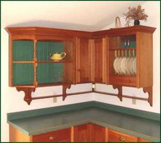 Cherry Kitchen with inset doors