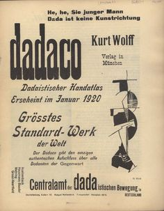 """Der Dada No. 2. Hannah Höch / """"The standard norms and values had become ridiculous for the Dadaists simply ridiculous. From the Berlin Dadaist movement Moholy-Nagy mostly adopted the idea of freedom: that everything was possible as well as the opposite."""" (Passuth:20)"""