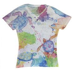 591dd4e16 Outer Banks Sea Turtles Ladies T-shirt. Shop Outer Banks Local Stores! Local
