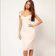 ASOS Sexy Pencil Dress With Sweetheart Neckline. Check it out!  Size: 4