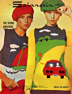 spinnerin_popover_the_scenic_sweaters_1971 by it's better than bad, via Flickr