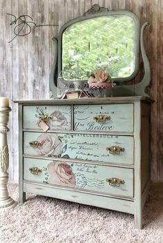 Polite briefed shabby chic furniture diy Bookmark this site or page Redo Furniture, Painted Furniture, Furniture Decor, Refinishing Furniture, Repurposed Furniture, Recycled Furniture, Furniture Projects, Shabby Chic Furniture, Decoupage Furniture