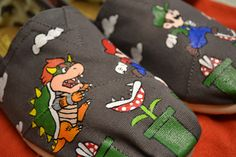 MARIO TOMS from: https://www.etsy.com/listing/79974212/custom-hand-painted-toms-shoes-free