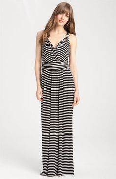 This maxi dress is probably one of THE most flattering dresses!!  LOVE Vince Camuto