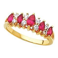 Fancy Anniversary Ring Mounting Would be pretty with Sapphires also