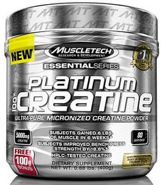 Platinum Micronized Creatine - Muscletech   Body & Fitshop