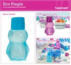 El regalo más lindo para tus niños es el Eco Pingüi de Tupperware, su diseño es hermoso y muy práctico.