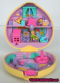 Robert for our first Chirstmas together, made one of my childhood dreams come true when bought me my OWN Polly Pocket. He ordered it from England because it was the only one he could find that was made in 1999, the year I was 10 <3