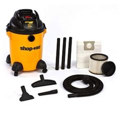 I'm learning all about Shop-Vac 8 Gallon QSP Plus Wet/Dry Model 965-08-00 at @Influenster!