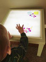 DIY Light Table: Ikea Lack Hack | Adventures in Crafting by katyANDzucchini