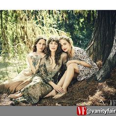 By @vanityfair via @RepostWhiz app: A sisterly dream team. Domino, Lola, and Jemima Kirke photographed by @JasonBellPhoto for V.F.'s #SistersIssue. (#RepostWhiz app) #lolakirke #jemimakirke #dominokirke