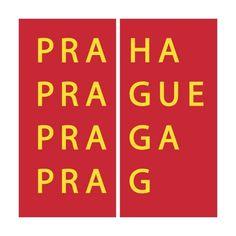 Prague Logo done by Studio Najbrt