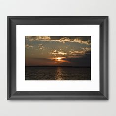 Ocean City, Maryland Series - Sunset by Sarah Shanely Photography $31.00