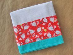 Flour Sack Towel  Kitchen Towel  Lint Free Tea by TheTamedTowel