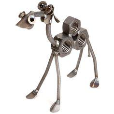 Metal+Yard+Art+Animals | Hanging Possum Sculpture Yardbirds by Richard Kolb