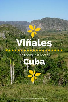 Go to Cuba, while it´s still authentic. I loved Viñales, it was such a peaceful and friendly place.