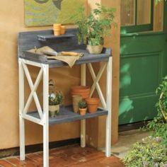 Vintage Potting Bench