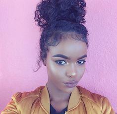 Another pretty face Goddess Locs, Bun Hairstyles, Pretty Hairstyles, Haircuts, Curly Hair Styles, Natural Hair Styles, Crochets Braids, Hair Journey, Textured Hair