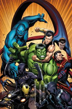New Avengers #22 by Dale Keown *