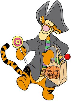 Halloween themed images of Winnie the Pooh, Piglet, Eeyore, Tigger and other Disney characters. Halloween Things To Draw, Halloween Yard Art, Halloween Cartoons, Halloween Drawings, Halloween Clipart, Halloween Images, Disney Halloween, Cool Cartoons, Disney Cartoons