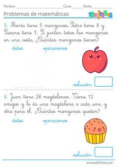 Espanol To English, Math Subtraction, Math 2, 1st Grade Worksheets, Spanish Class, After School, Grade 1, Teaching, Education